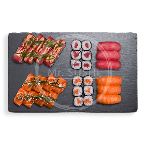 Foto Salmon Tuna Deluxe Box (34st)